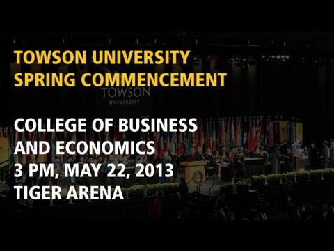 College of Business and Economics, Spring Commencement