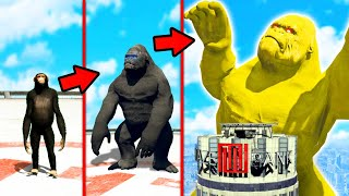 GTA 5 - KING KONG zu KING GOTT upgraden!!