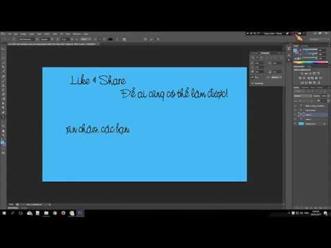 Hướng Dẫn Sửa Lỗi Con Trỏ Ngược Trong Photoshop CS6 – Khắc Phục Lỗi Chữ Nhảy Bên Trái