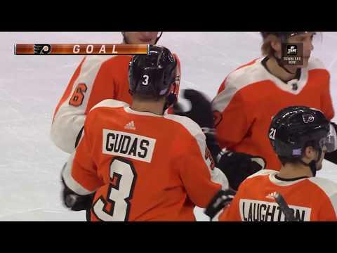 Radko Gudas Goal - Philadelphia Flyers vs Ottawa Senators (11/27/18)