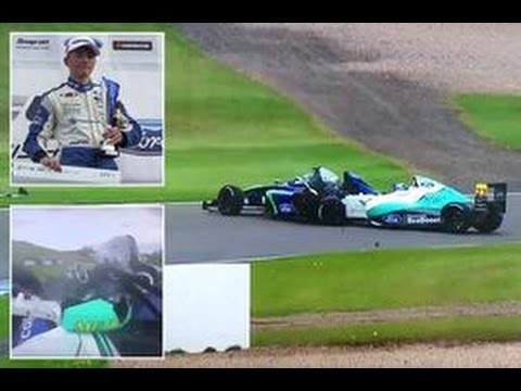 Family of teenage British F4 driver Billy Monger speak of 'terrifying day' after Donington crash
