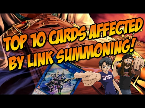 Top 10 Cards Affected by Link Summoning (ft Yuginono)
