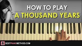 Baixar Christina Perri - A Thousand Years (Piano Tutorial Lesson)
