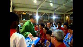 Parroquia Santa Rosa de Lima - Misa bendicion de Misioneros