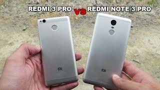 Comparativa: Xiaomi Redmi 3 PRO vs Xiaomi Redmi Note 3 PRO