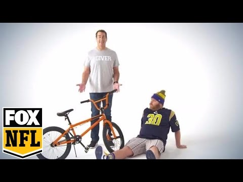 Rob Riggle introduces new charity for NFL fans | Riggle