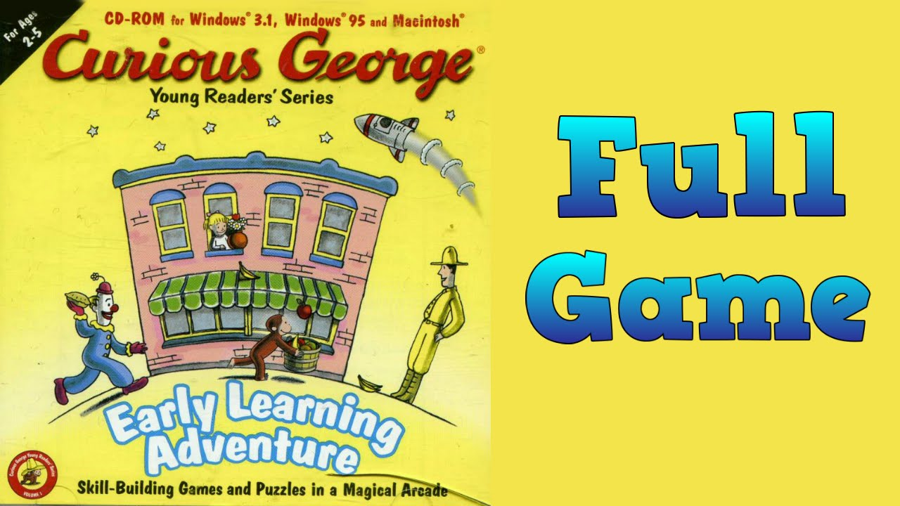 whoa i remember curious george early learning adventure youtube