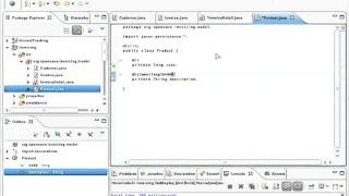 You will see how the author develops 'in live' an invoicing application from scratch in only 14 minutes. he uses java, openxava, eclipse and tomcat. key ...