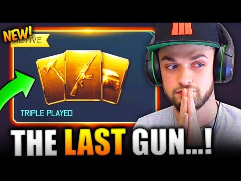 UNLOCKING THE LAST GUN IN THE GAME!