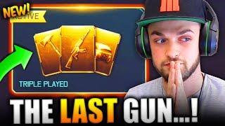 UNLOCKING THE LAST GUN IN THE GAME!
