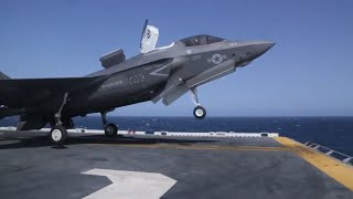 YOU KNOW YOU LIKE IT !!! US Military F-35 Aircraft Carrier Operations ready to make tax payers happy