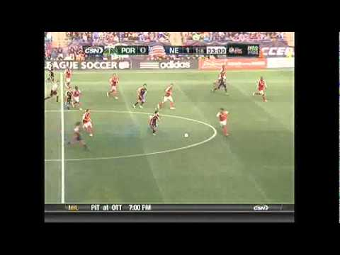 Lee Nguyen shows fancy foot skills in New England Revolution win over Portland Timbers (3/24/2012)