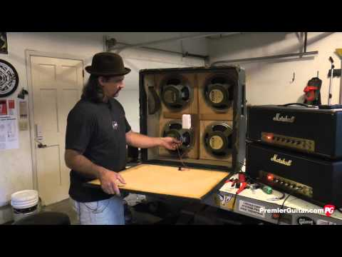 DIY: How To Install Speakers in a 4x12 Cab, Part 2 - YouTubeYouTube