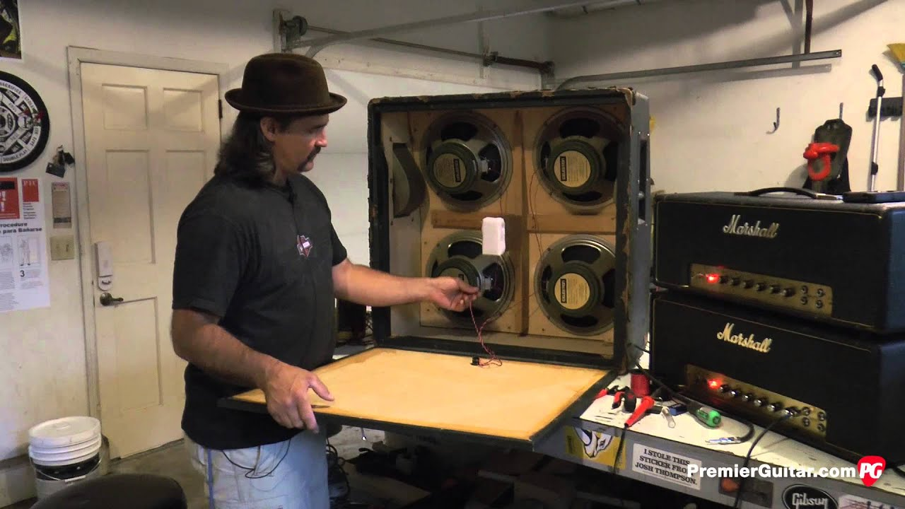DIY: How To Install Speakers in a 4x12 Cab, Part 2  Ohm Speaker Cabinet Wiring Diagram on