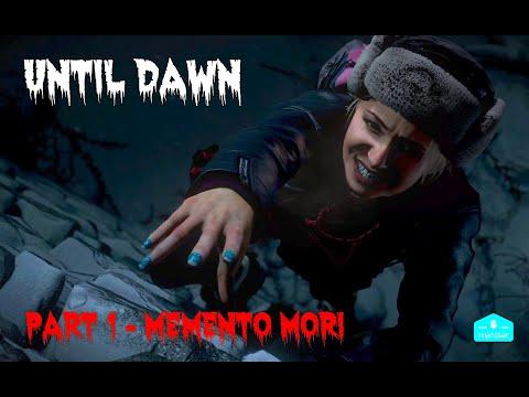 HORROR GAME Until Dawn Gameplay Walkthrough (PS4) Part 1 - Memento Mori (NO COMMENTARY)