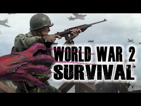 WORLD WAR 2 SURVIVAL (Call of Duty Black Ops Zombies)
