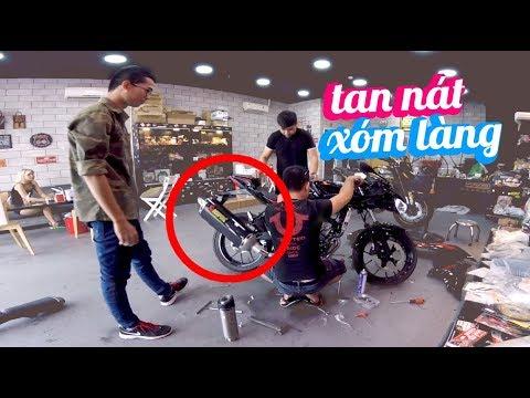 GSX R150 ĐỘ PÔ PR2 PHÁ LÀNG PHÁ XÓM | Ride Diary 72 | Vietnam motovlog