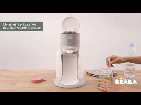 Préparateur de biberon Bib'Expresso® gris vidéo
