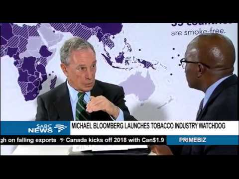Michael Bloomberg launches tobacco industry watchdog