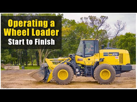 How To Operate A Wheel Loader (2019): Pre-Op To Shut Down | Heavy Equipment Operator