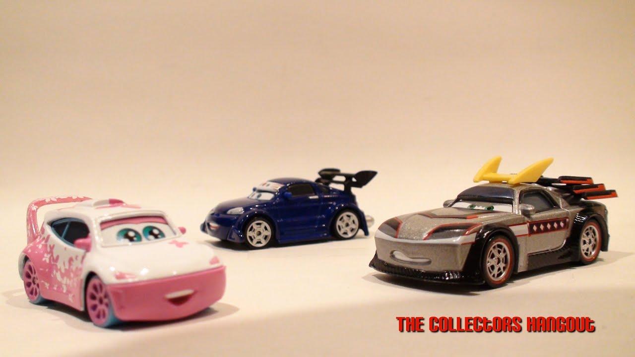Disney Cars Tokyo Mater  Pack