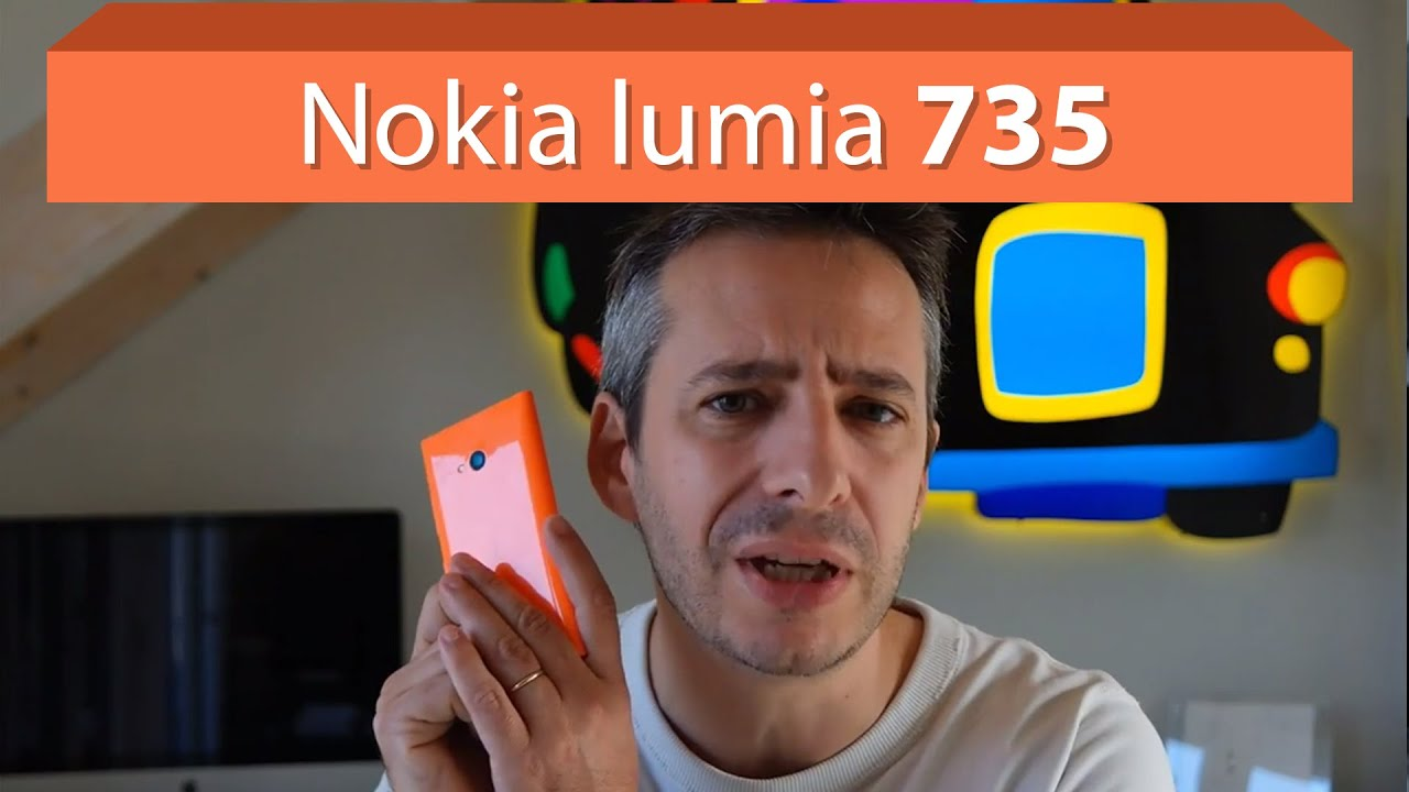 Nokia Lumia 735 unboxing and first impressions - YouTube