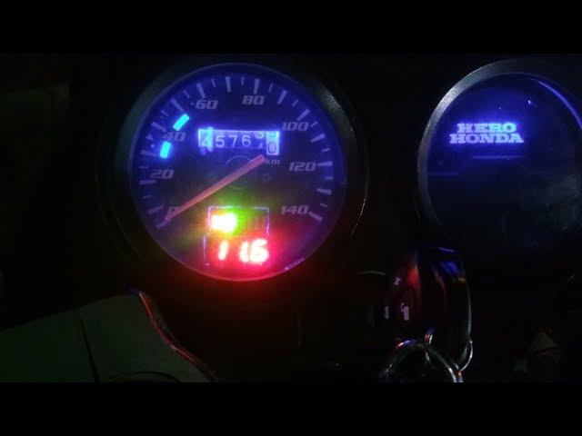 How to install voltmeter in bike | Hero Honda CD Deluxe desi modify