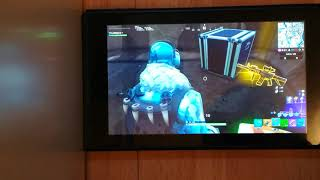 Fortnite deep freeze bundle unboxing (Nintendo Switch) + Team Rumble gameplay