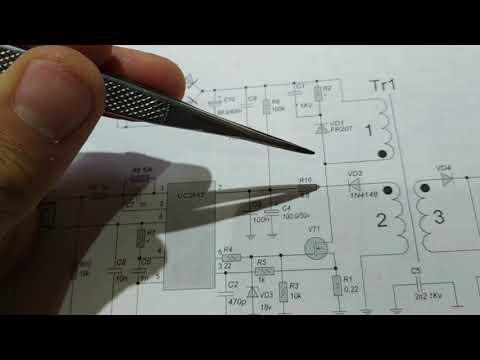 Типовой ремонт блока питания на микросхеме UC3842
