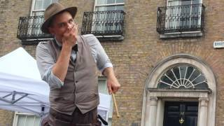 Charlie Caper  - banknote trick + finale (incomplete) - Dublin City Spectacular 2016 (part 5)