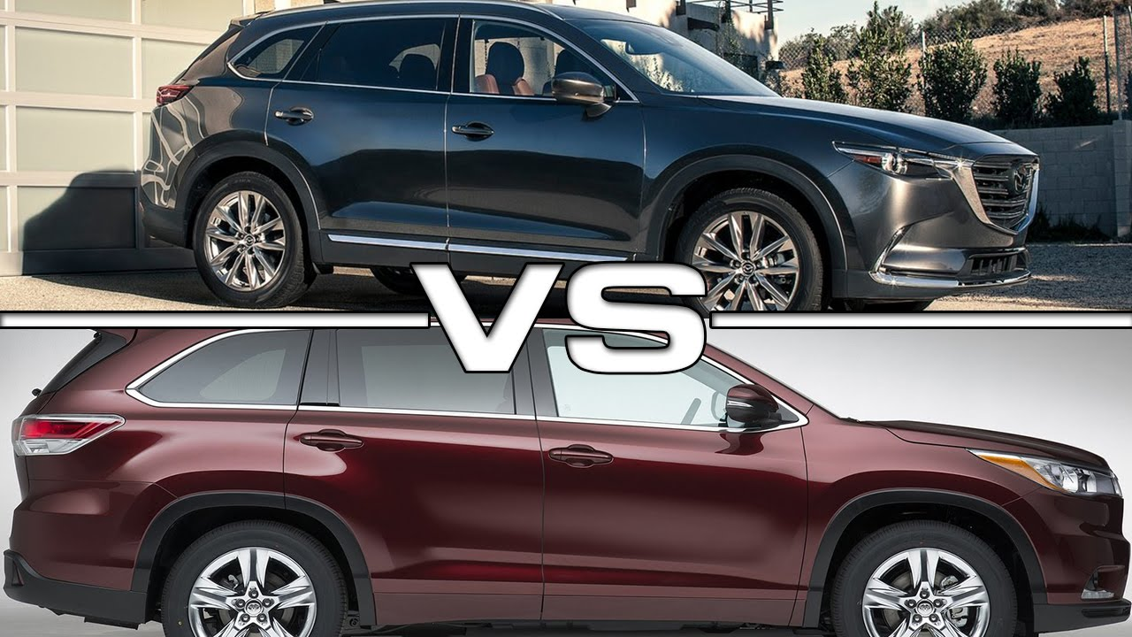 Toyota Highlander Vs Mazda Cx 9 Road Test