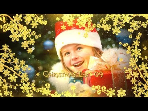 Christmas Slideshow - After Effects template - 동영상
