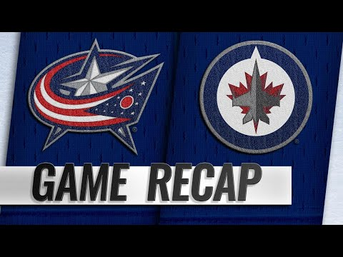 Jets top Blue Jackets on Connor's late goal