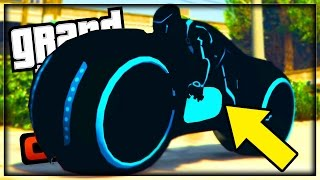 GTA 5 Online How To Get Tron Bike! GTA 5 Hidden Secret Bikes! GTA 5 Online Bikers DLC (GTA 5 Online)