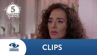 Samanta descubre a Marcelo besando a otro hombre - Cinco Viudas Sueltas