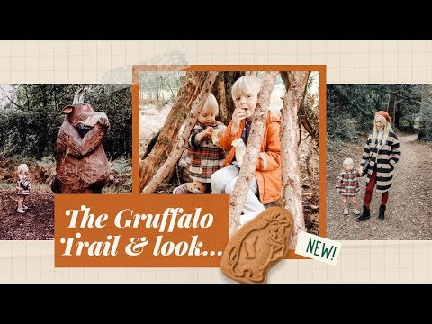 ad THE GRUFFALO TRAIL, PARTY GAMES & *SNEAK PEAK* AT THE NEW GRUFFALO ORGANIX BISCUITS!
