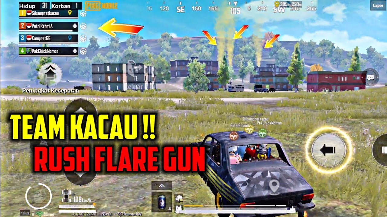 SQUAD NGAK BERES ON FIRE - PUBG MOBILE INDONESIA