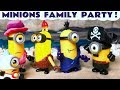Minions Finger Family Song Toys for Kids Party Nursery Rhyme Thomas and Friends Learn Colors TT4U