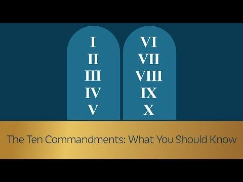The Ten Commandments: Introduction