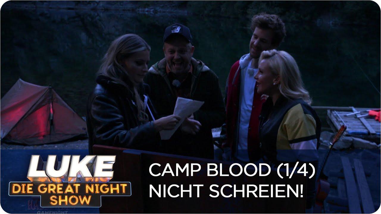 Download Nicht schreien! Promis im Horrorcamp | LUKE! Die Greatnightshow