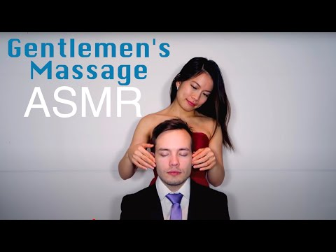 ASMR Gentlemen's Head Massage w/ ASMallRequest