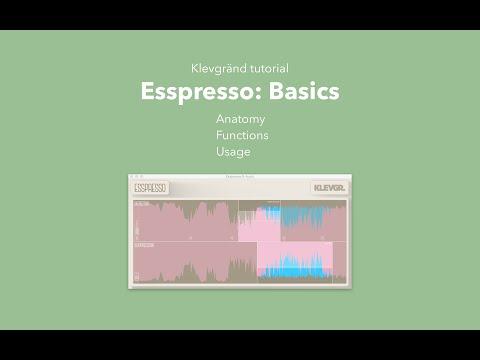 Esspresso - Basics