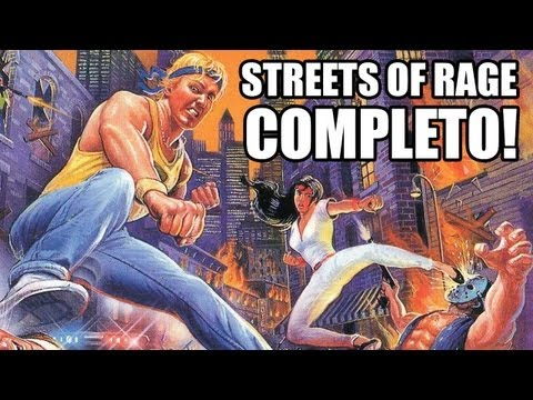 Retrô Gameplay - Streets of Rage até o final!
