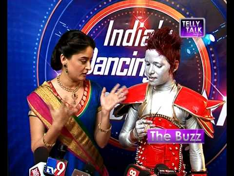 India's Dancing Superstar : Mahi Vij with contenstant Akshay