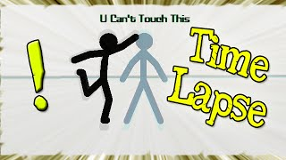 ► U Can't Touch This! - TIME LAPSE (Speed Animation) - Pivot Stickfigure Animator