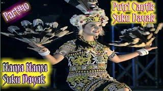 Cantik !!! Gadis Dayak & Nama Nama Suku Dayak #10
