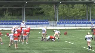 Американский футбол.  Патриоты   -  Северный легион (27.06.15)
