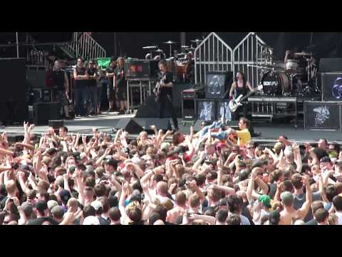 Sick Puppies You're Going Down Live @ Rock On The Range 5 21 2011