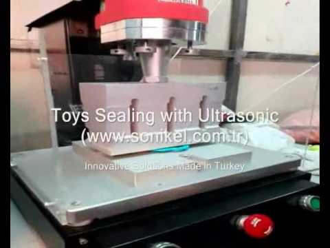 Ultrasonic Sealing And Welding Machine For Toys In Plastic