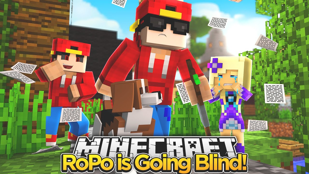 Minecraft Adventure Little Ropo Is Blind Youtube